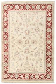 Ziegler Rug 118X180 Authentic  Oriental Handknotted Beige/Dark Beige (Wool, Afghanistan)