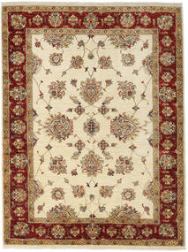 Ziegler Rug 152X203 Authentic  Oriental Handknotted Beige/Light Brown (Wool, Afghanistan)