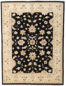 Ziegler Ariana Rug 144X195 Authentic  Oriental Handknotted Beige/Black (Wool, Afghanistan)