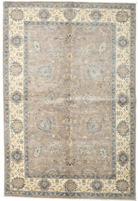 Ziegler Ariana Rug 165X243 Authentic  Oriental Handknotted Light Grey/Beige (Wool, Afghanistan)
