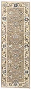 Ziegler Ariana Rug 63X183 Authentic  Oriental Handknotted Hallway Runner  Beige/Light Grey (Wool, Afghanistan)