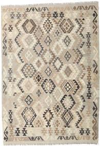 Kilim Afghan Old Style Rug 170X246 Authentic  Oriental Handwoven Light Grey/Beige (Wool, Afghanistan)