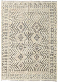 Kilim Afghan Old Style Rug 175X242 Authentic  Oriental Handwoven Light Grey/Dark Beige (Wool, Afghanistan)