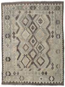 Kilim Afghan Old Style Rug 152X206 Authentic  Oriental Handwoven Light Grey/Dark Grey (Wool, Afghanistan)