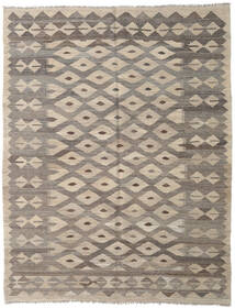 Kilim Afghan Old Style Rug 157X200 Authentic  Oriental Handwoven Light Grey/Dark Grey (Wool, Afghanistan)