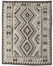 Kilim Afghan Old Style Rug 153X195 Authentic  Oriental Handwoven Light Grey/Dark Grey (Wool, Afghanistan)