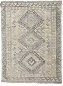 Kilim Afghan Old Style Rug 130X172 Authentic  Oriental Handwoven Light Grey (Wool, Afghanistan)