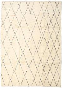 Moroccan Berber - Afganistan Matta 206X287 Äkta Modern Handknuten Beige/Ljusrosa (Ull, Afghanistan)