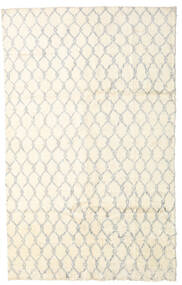 Moroccan Berber - Afganistan Rug 175X283 Authentic  Modern Handknotted Beige/White/Creme (Wool, Afghanistan)