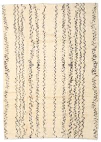 Moroccan Berber - Afganistan Teppich  204X284 Echter Moderner Handgeknüpfter Beige/Hellgrau (Wolle, Afghanistan)