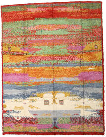 Moroccan Berber - Afganistan Dywan 296X392 Nowoczesny Tkany Ręcznie Jasnozielony/Czerwony Duży (Wełna, Afganistan)