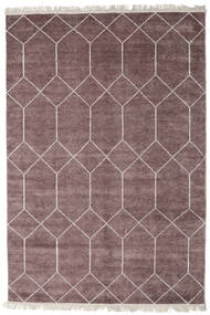 Kiara - Mauve Rug 250X300 Authentic  Modern Handknotted Light Purple/Dark Grey Large ( India)