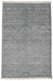 Vanice - Grau Teppich  140X200 Echter Moderner Handgeknüpfter Hellgrau/Blau ( Indien)