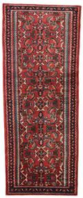 Rudbar Matto 83X207 Itämainen Käsinsolmittu Käytävämatto Tummanpunainen/Musta (Villa, Persia/Iran)