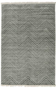 Vanice - Gris Vert Tapis 200X300 Moderne Fait Main ( Inde)