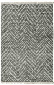 Vanice - Grau Grün Teppich  160X230 Echter Moderner Handgeknüpfter Hellgrau/Dunkelgrau ( Indien)