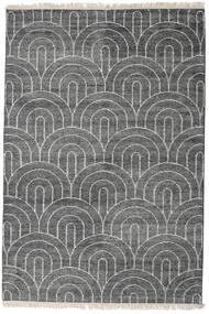 Vanya - Charcoal/Cream Covor 160X230 Modern Lucrat Manual Gri Închis/Gri Deschis ( India