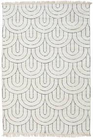 Vanya - Sand/Black Rug 160X230 Authentic Modern Handknotted Light Grey/Beige ( India)