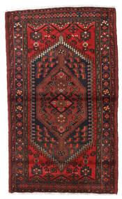 Hamadan Rug 100X166 Authentic  Oriental Handknotted Dark Red/Black (Wool, Persia/Iran)