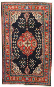 Kazak Rug 120X194 Authentic  Oriental Handknotted Dark Blue/Dark Red (Wool, Pakistan)