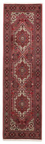 Gholtogh Rug 60X207 Authentic  Oriental Handknotted Hallway Runner  Dark Red/Brown (Wool, Persia/Iran)