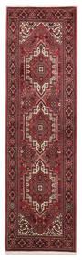 Gholtogh Tapis 60X207 D'orient Fait Main Tapis Couloir Rouge Foncé/Marron (Laine, Perse/Iran)
