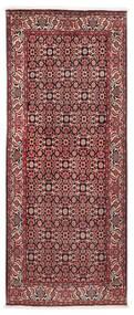 Bidżar Dywan 86X210 Orientalny Tkany Ręcznie Chodnik Ciemnoczerwony/Ciemnobrązowy (Wełna, Persja/Iran)