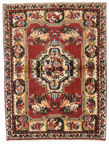 Bakhtiari Rug 106X142 Authentic  Oriental Handknotted Dark Red/Dark Brown (Wool, Persia/Iran)