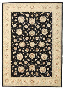 Ziegler Rug 168X236 Authentic  Oriental Handknotted Beige/Black (Wool, Afghanistan)
