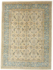 Ziegler Ariana Rug 282X380 Authentic  Oriental Handknotted Dark Beige/Light Grey Large (Wool, Afghanistan)