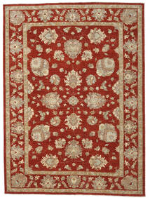 Ziegler Ariana Rug 245X332 Authentic  Oriental Handknotted Dark Red/Light Brown (Wool, Afghanistan)