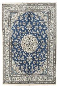 Nain Dywan 170X230 Orientalny Tkany Ręcznie Jasnoszary/Beżowy (Wełna, Persja/Iran)