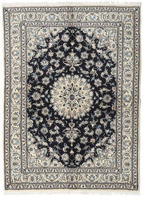 Nain Rug 170X230 Authentic  Oriental Handknotted Light Grey/Beige (Wool, Persia/Iran)