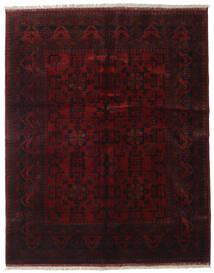 アフガン Khal Mohammadi 絨毯 152X190 オリエンタル 手織り 深紅色の (ウール, アフガニスタン)
