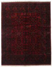 Afghan Khal Mohammadi Rug 152X190 Authentic  Oriental Handknotted Dark Red (Wool, Afghanistan)