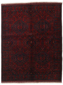 Afghan Khal Mohammadi Rug 155X192 Authentic  Oriental Handknotted Dark Red (Wool, Afghanistan)