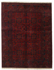 Afghan Khal Mohammadi Rug 151X196 Authentic  Oriental Handknotted Dark Red (Wool, Afghanistan)