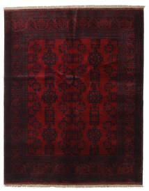 アフガン Khal Mohammadi 絨毯 151X189 オリエンタル 手織り 深紅色の (ウール, アフガニスタン)