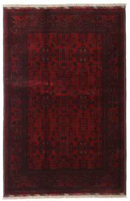 Afgan Khal Mohammadi Dywan 128X191 Orientalny Tkany Ręcznie Ciemnoczerwony (Wełna, Afganistan)