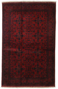 Afghan Khal Mohammadi Alfombra 127X156 Oriental Hecha A Mano Rojo Oscuro (Lana, Afganistán)