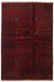 アフガン Khal Mohammadi 絨毯 133X195 オリエンタル 手織り 深紅色の (ウール, アフガニスタン)