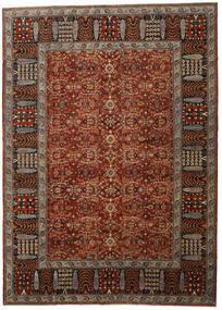 Afghan Shabargan Rug 305X423 Authentic Modern Handknotted Dark Brown/Dark Red Large (Wool, Afghanistan)
