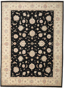 Ziegler Ariana Matto 300X416 Itämainen Käsinsolmittu Musta/Beige Isot (Villa, Afganistan)