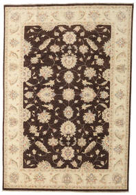 Ziegler Ariana Rug 197X290 Authentic  Oriental Handknotted Beige/Dark Brown (Wool, Afghanistan)