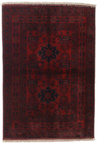 Afghan Khal Mohammadi Rug 102X145 Authentic  Oriental Handknotted Dark Red (Wool, Afghanistan)