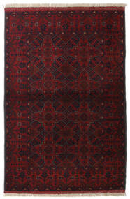 Afghan Khal Mohammadi Rug 103X155 Authentic  Oriental Handknotted Dark Red (Wool, Afghanistan)