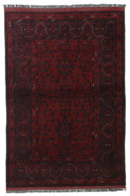 Afghan Khal Mohammadi Rug 102X150 Authentic  Oriental Handknotted Dark Red (Wool, Afghanistan)
