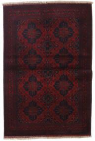 Afghan Khal Mohammadi Vloerkleed 100X149 Echt Oosters Handgeknoopt Donkerrood (Wol, Afghanistan)