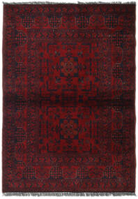 Afghan Khal Mohammadi Rug 104X147 Authentic  Oriental Handknotted Dark Red (Wool, Afghanistan)