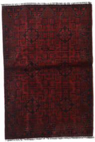 Afghan Khal Mohammadi Vloerkleed 99X147 Echt Oosters Handgeknoopt Donkerrood (Wol, Afghanistan)